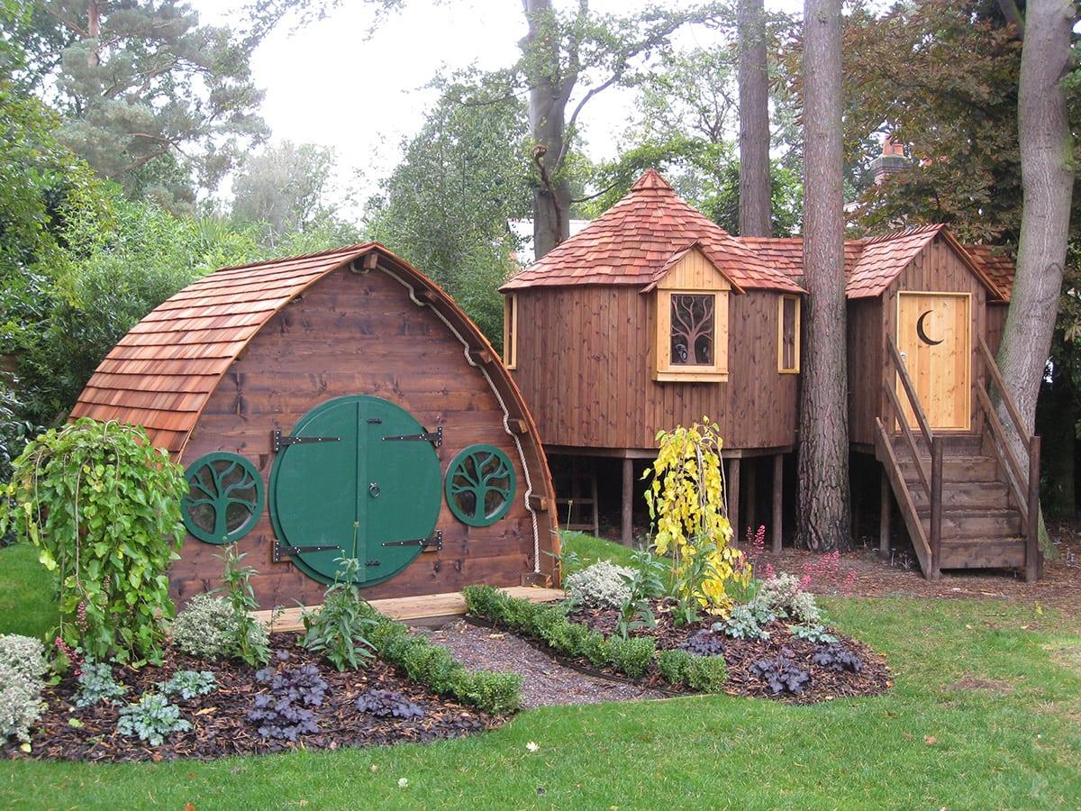 Hobbit Holes High Life Treehouses